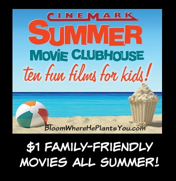 Cinemark's 2016 Summer Movie Clubhouse