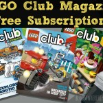 Free Subscription to the LEGO® Club Magazine!