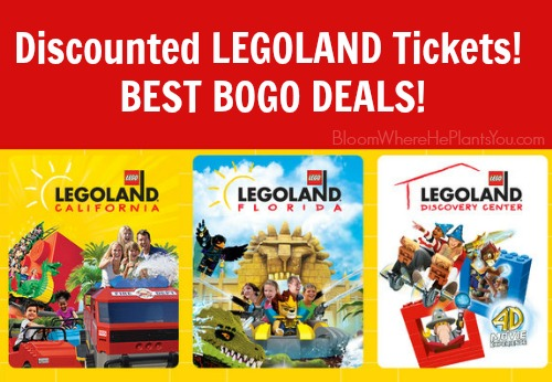 Discounted LEGOLAND Park Tickets! Here are the BEST BOGO DEALS!