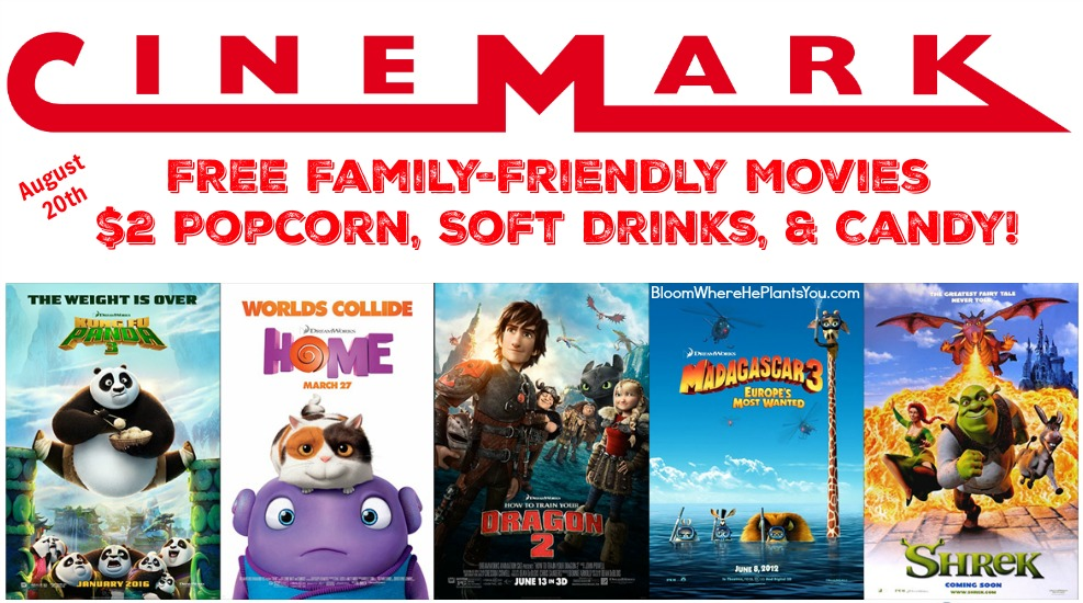 Heres Another Fun Summer Movie Event Cinemark Theatres Is Celebrating Community Day And Hosting A FREE DreamWorks Animation