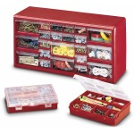 Stack-On 22-Drawer Storage Cabinets with 2 Storage Boxes (reg. $15.88) ONLY $10.88 Shipped! Perfect LEGO storage!