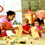 Home Depot Kids Workshop: Build a Valentine Photo Box 2/4!