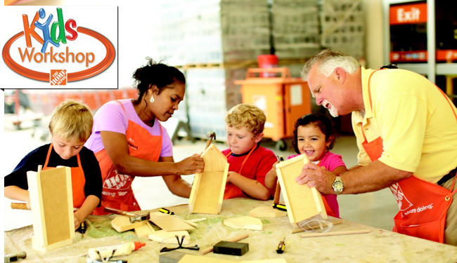Mark your calendars for the next Home Depot Kid's Workshop Event! Build a Valentine Photo Box 2/4!