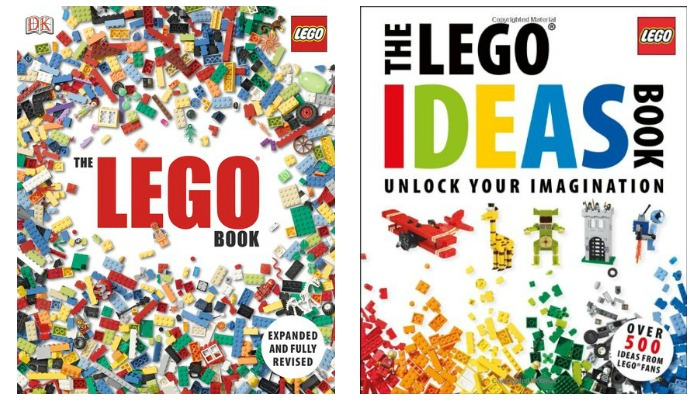 Hardcover LEGO Inspiration Books on SALE - Great gift ideas!