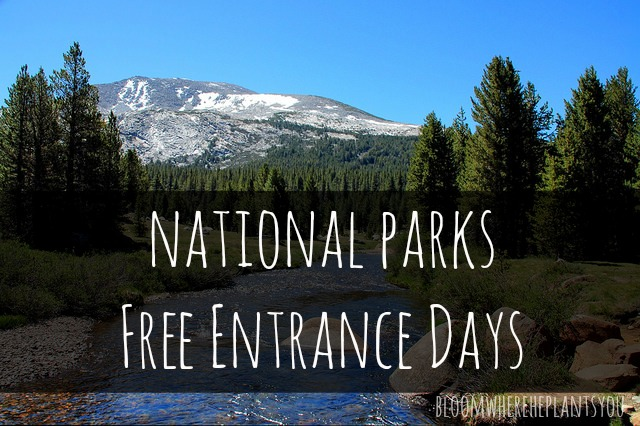trip ideas national parks free days august