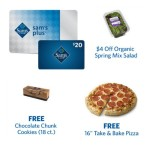 Sam's Club Membership Deal: $20 Gift Card, FREE Food Offers, FREE Sam's Plus® Upgrade!