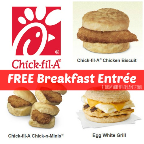 Chick fil a breakfast giveaway