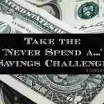 "The ""Never Spend A…"" Savings Challenge – Great way to save money quickly!"