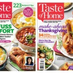One Year of Taste of Home Magazine ONLY $3.65! Plus, BH&G, Family Circle, & more – FREE!