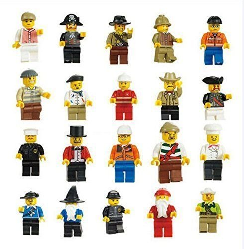 Set of 20 LEGO Compatible Mini-Figures ONLY $4.76 shipped!