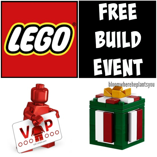 Free LEGO® Mini Model Build (12/6 or 12/7)