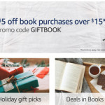 AMAZON: Save $5 on ANY Book Purchase Over $15!