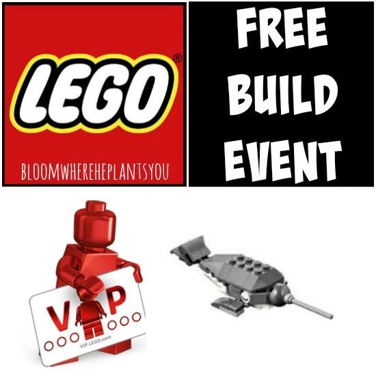 RSVP Now for this FREE LEGO Build Event!