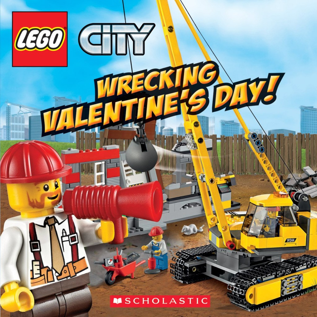 LEGO City Wrecking Valentine's Day!