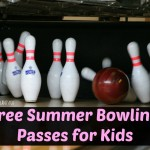 Sign the Kids Up for FREE Summer Bowling Sessions!