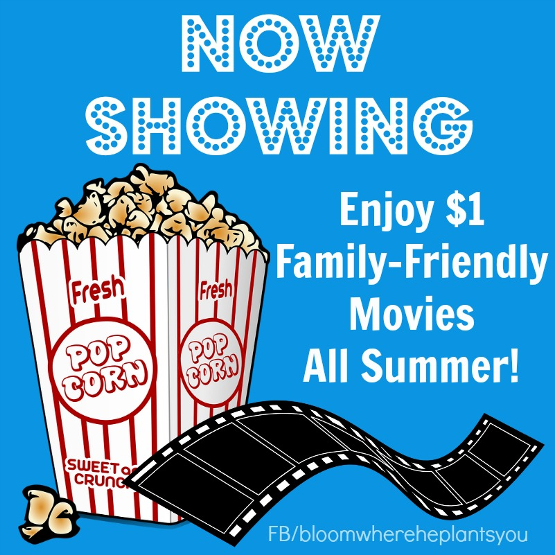 Regal Cinema's 2017 Summer Movie Express – $1 Family-Friendly Movies ALL Summer!